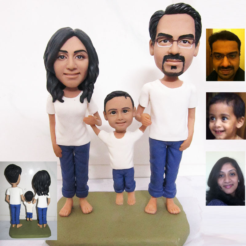 Family set custom figures