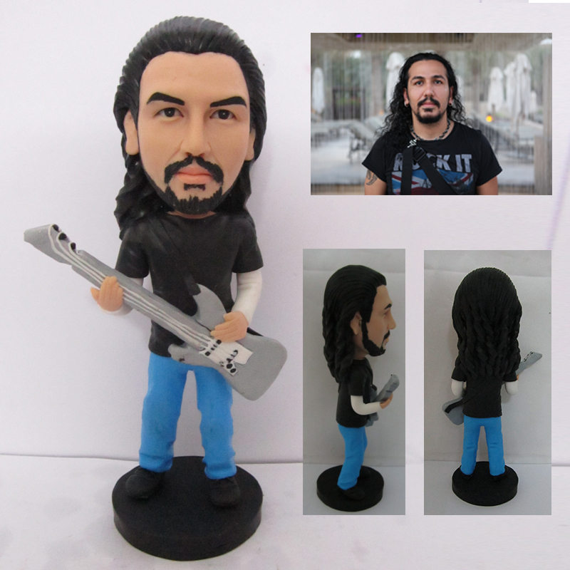 Guitar man action custom figure