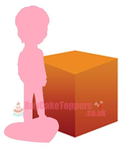 1 person custom figure with LARGE object