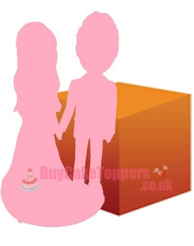 2 person custom figure with LARGE object