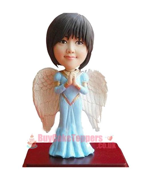 angel girl custom figurine