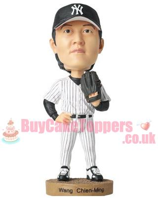 baseball player custom figurine