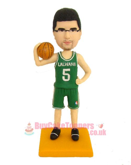 basketball player custom figurine