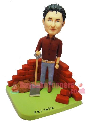 the builder figurine