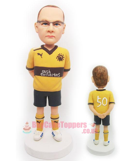 custom footballer figure