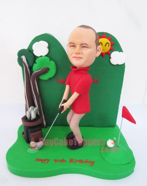 golf player figure