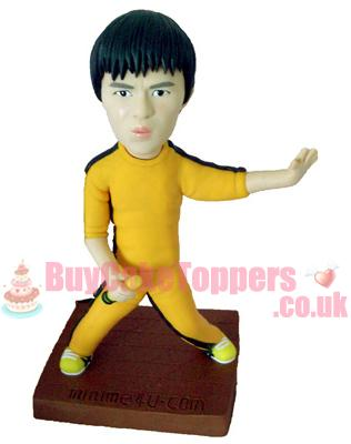 Bruce Lee KungFu action figure