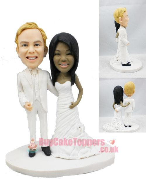 we are married cake topper