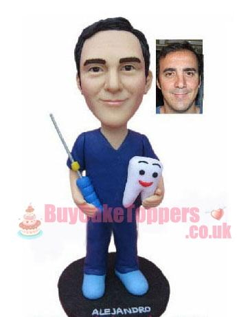 Personalised dentist action figure