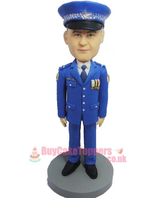 police offer figurine
