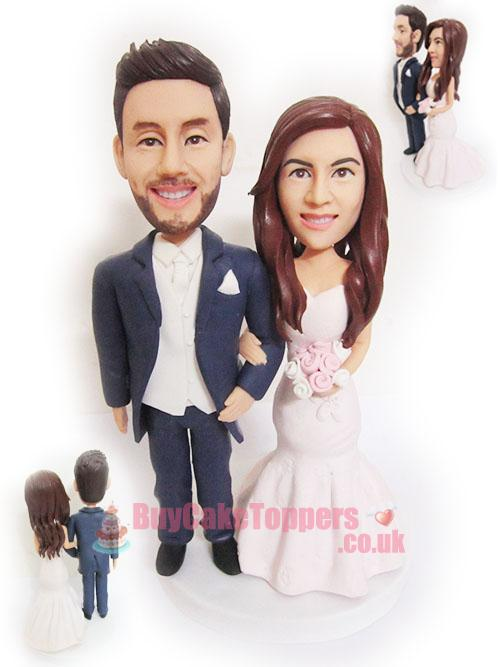 sweet couple cake topper