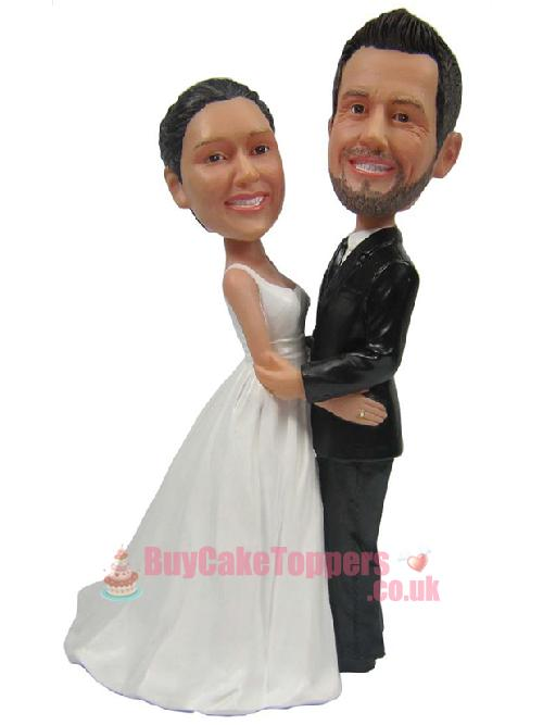 sweet couple wedding cake topper