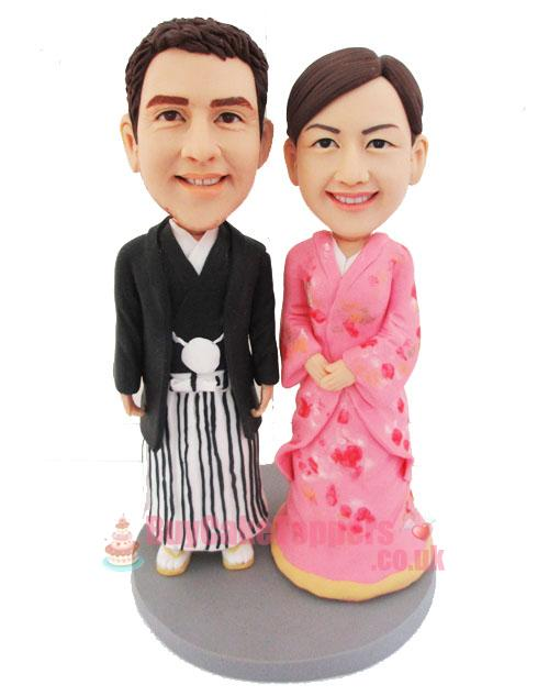 Japanese wedding cake topper